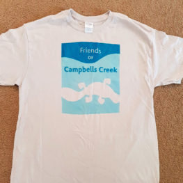 Friends of Campbells Creek T-shirt
